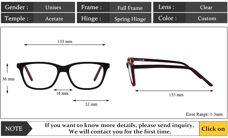 6734f58f7a5 High Quality round square Optical Eyewear custom eye glass glasses  spectacle frames eyeglass