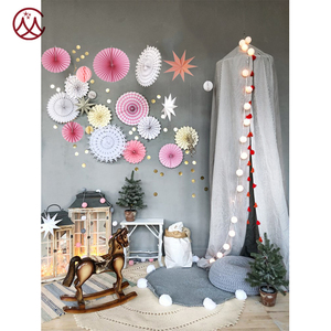 23pcs decor set hanging/ wall paper handcrafts/ decoration for party and home/ heart and sweet kits to warm the occasion