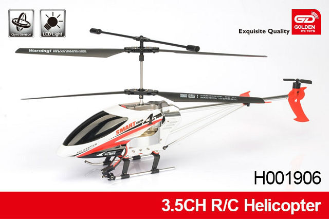 Long distance Flying Alloy 3.5-CH radio fly sky helicopter with gyro