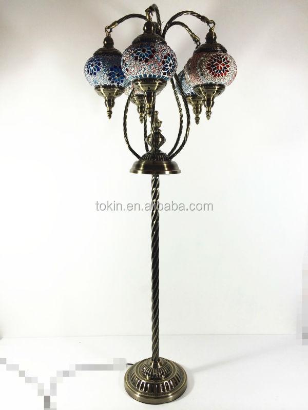 2015 NEW DESIGH Istanbul Handicraft Mosaic Art Turkish Fancy Floor Lamps  (FL05M02)
