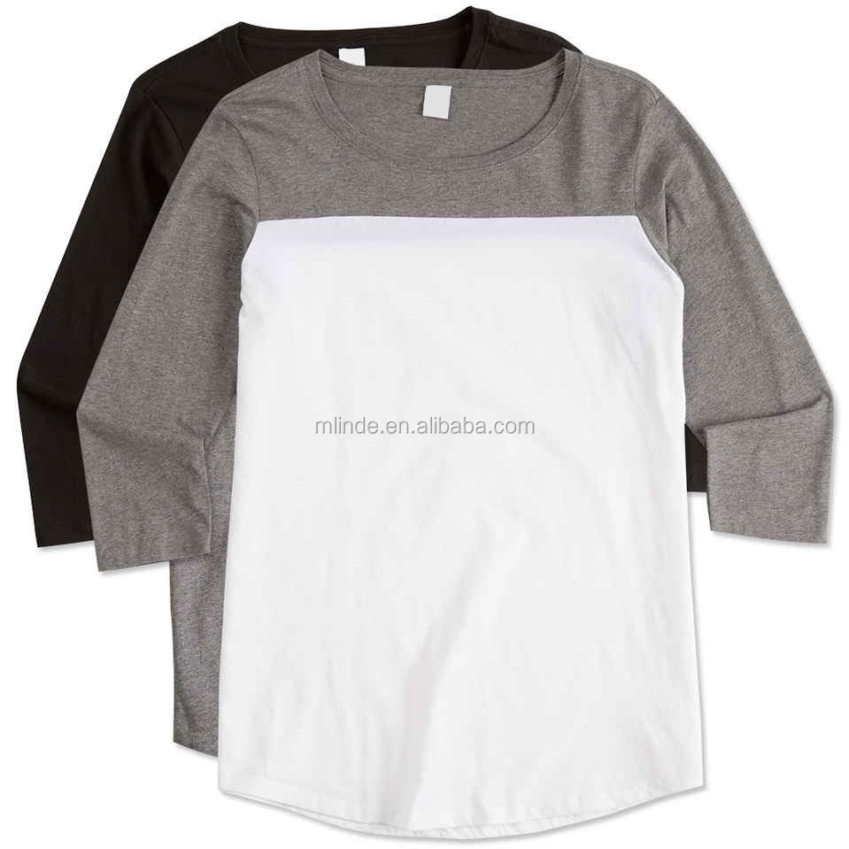 Crew neck blank t shirts 100 combed ring spun cotton for 100 ringspun cotton t shirt wholesale