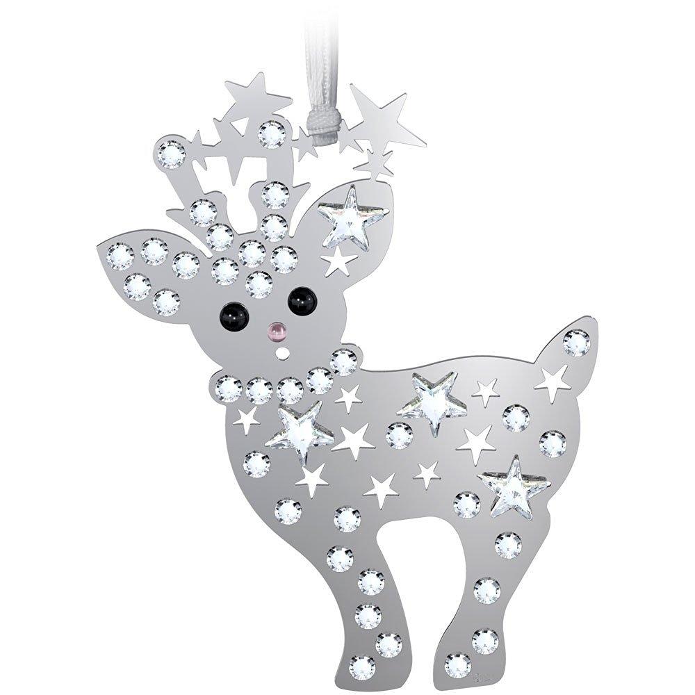 Swarovski Crystal 2013 Baby Reindeer Christmas Ornament
