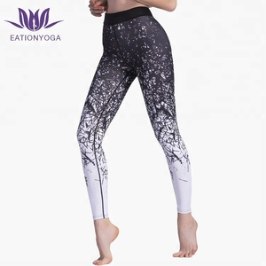 printed workout clothing custom ombre leggings