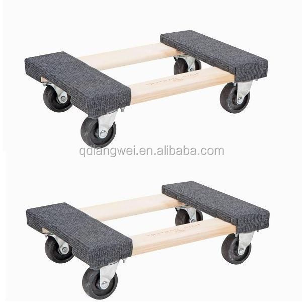 "2x 18"" Heavy Duty Mover's Dolly 1000lb Moving Furniture Appliance Equipment dolly"