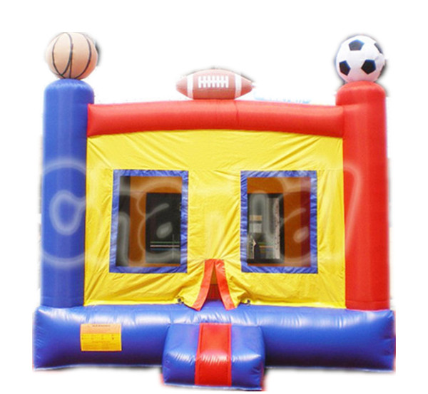 Mini sports popular inflatable ball jumping trampoline