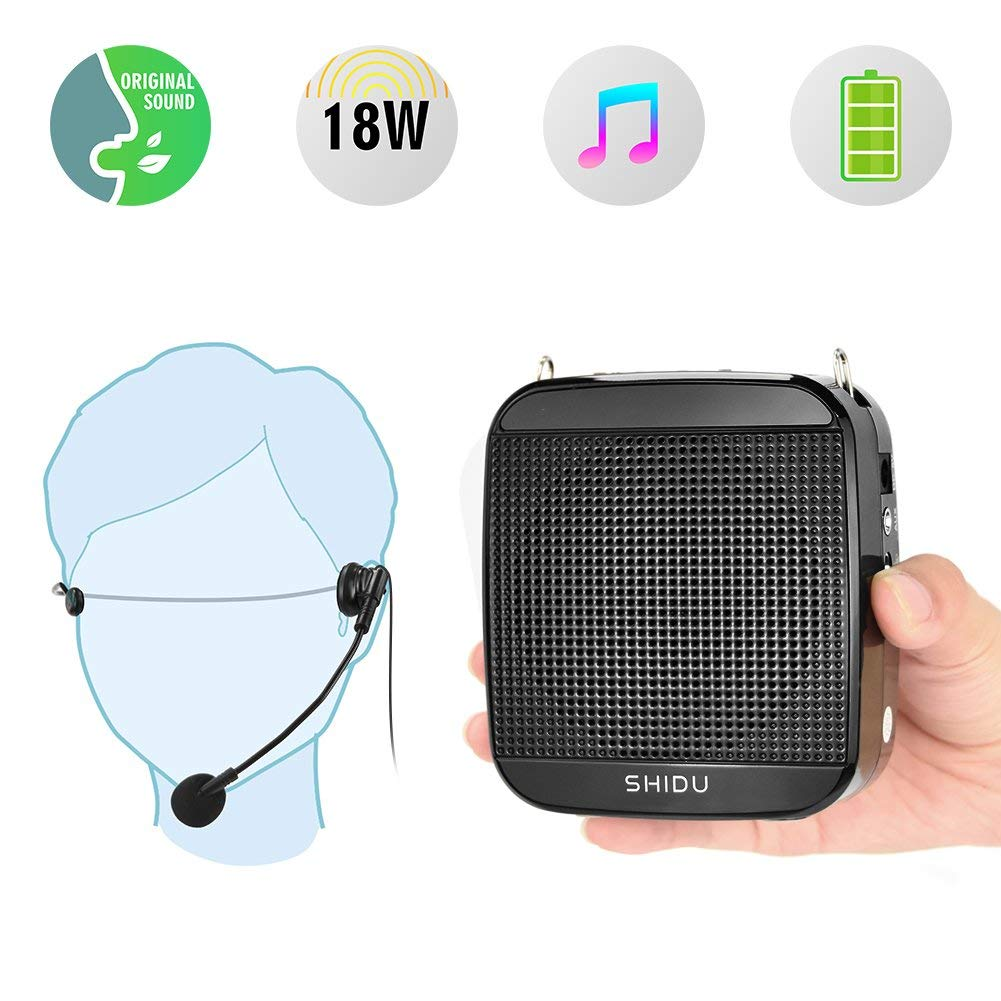 Cheap Best Voice Microphone Find Deals On Speech Amplifier Box Get Quotations Portable Shidu 18w S512 Personal Wired Headset And Speaker Mini Waistband Pa System