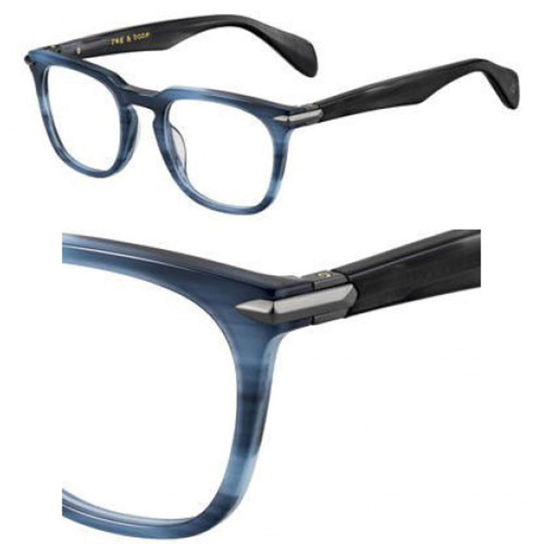 Eyeglasses Rag and Bone Rnb 7009 0HGC Brown Havana