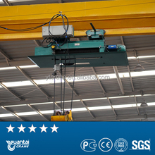 Electric wire rope hoist for overhead crane