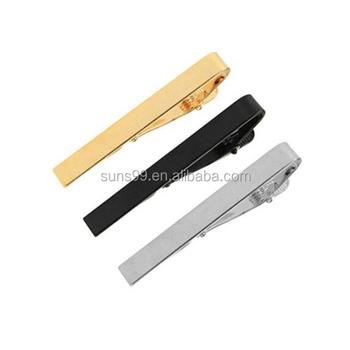 6a08affe05fb Custom Tie Clip Manufacturers, 3pcs Set Silver Golden Black Classic Tie Bar Clip  Necktie Tie