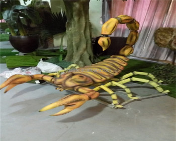3m length Jurassic park kids love huge life size movable voiced fake scorpion dinosaur costume toy & 3m Length Jurassic Park Kids Love Huge Life Size Movable Voiced Fake ...