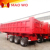Maowo well-known superior quality sincere service rear tipper hydraulic cylinder tipper dump semi trailer