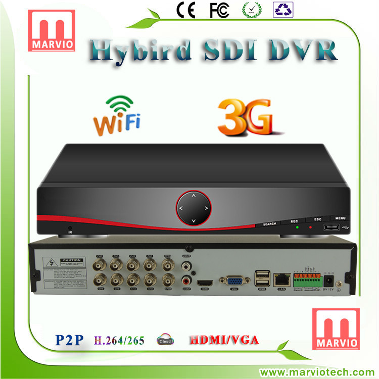 Marvio SDI 8005 Series free client software h.264 dvr newest firmware for HD System