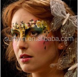 Masquerade Face Mask Temporary Tattoo
