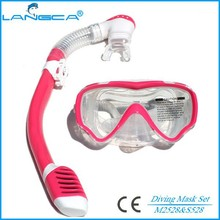 China Silicone Children Dive Set Kids Snorkeling Diving Mask