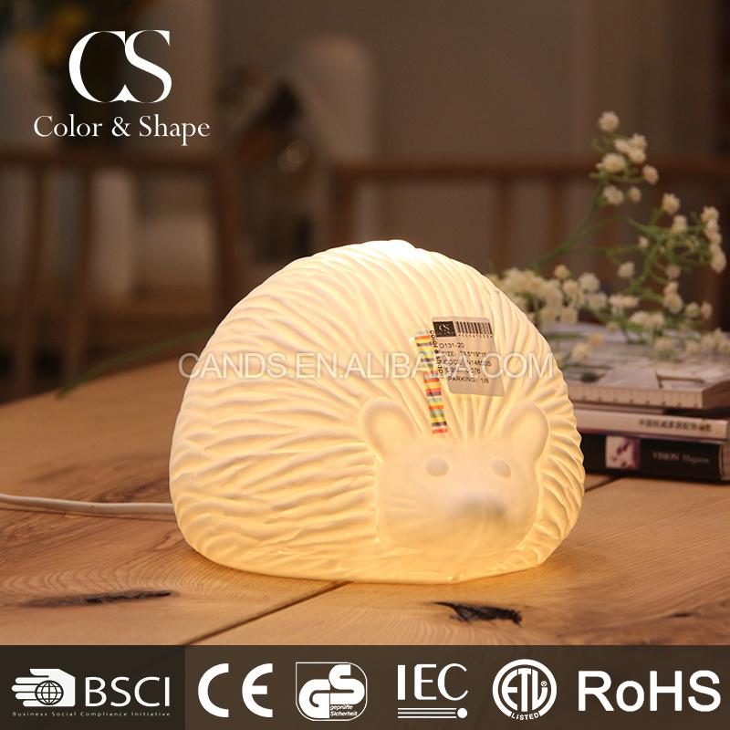 Dining Room Modern Decorative Hedgehog Table Lamp