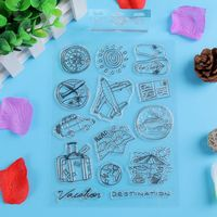 DIY scrapbooking/photo album Decorative Transparent Clear Silicone Stamp/Seal