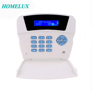 POWER!!!Wireless TFT Display/Keypad/Voice Prompt Home GSM Alarm Dialer Module With Built-in PIR And SOS Button