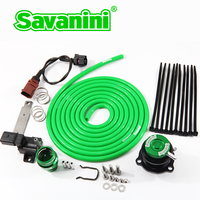 Savanini one pieced forged BOV Recirculation Valve Replacement Bypass kit for VW/AUDI MK5 MK6 EA888 EA113 engine 2.0T 1.8T Turbo