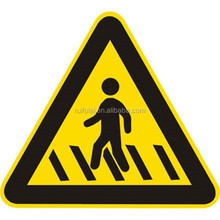 Road warning aluminum board reflective traffic sign