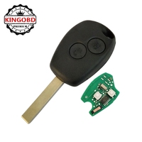 for R-e-nault Clio Kangoo Master 2 Button PCF7947 433Mhz Remote car Key