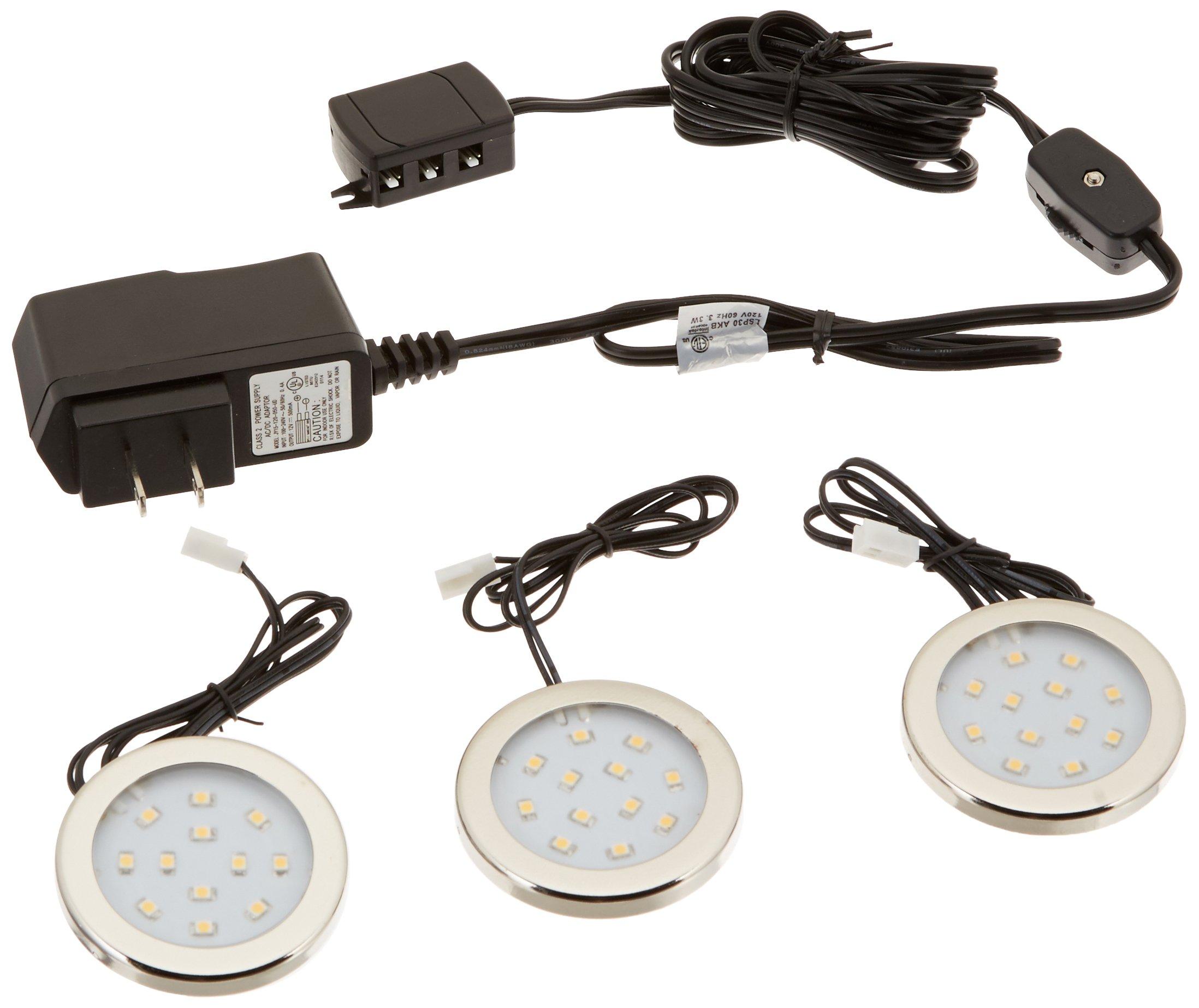 Westek LED Surface Mount Accent Lighting Kit 3 Pack 12V