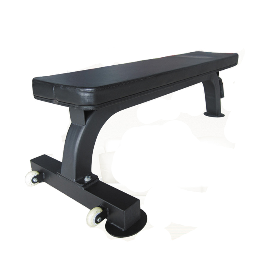 Gym Equipment Hot Dumbbell Bench Customized Black Flat Bench
