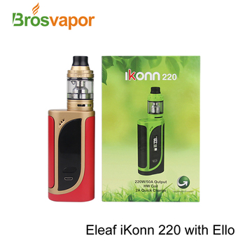 Alibaba express Stock Offer Eleaf iKonn 220 Kit With Retractable Top Fill Eleaf ELLO 2ml Atomizer