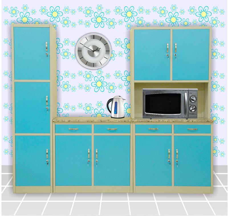 Complete Kitchen Cabinet Set: Komplette Küchenschrank-Sets / Küchenschränke Aus Metall