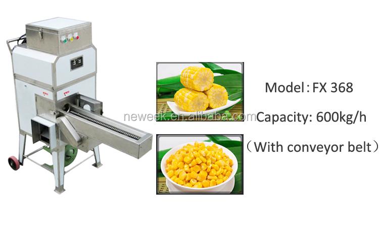 NEWEEK elektrikli tarım tatlı mısır mısır daneleme makinesi makinesi kenya