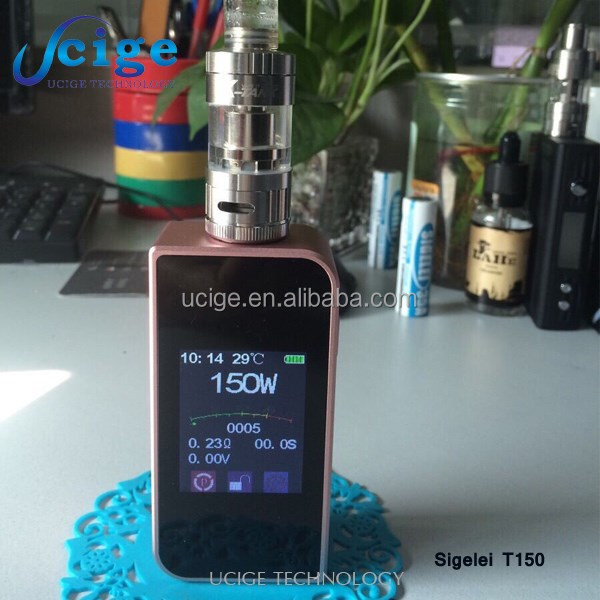 Newest products 2016 new vape 200w mods Other Properties e cigarette in uk market unique design sigelei t150watt mods