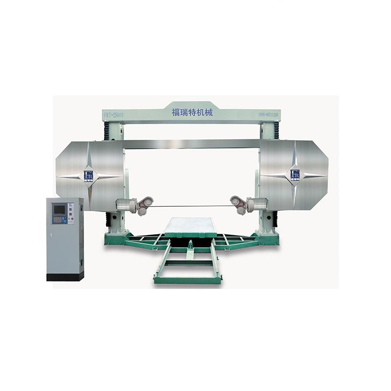 high efficiency multi granite diamond wire saw cutting machine