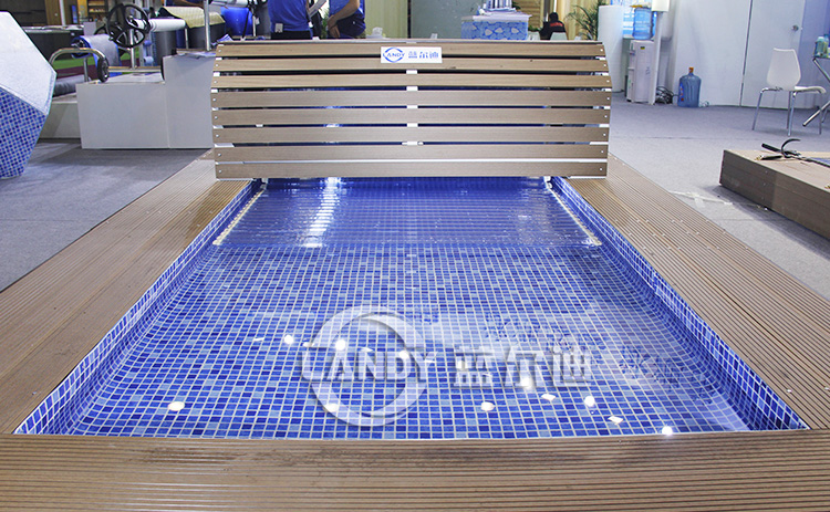 Electric Endless Pool Covers Retractable Swimming Pool