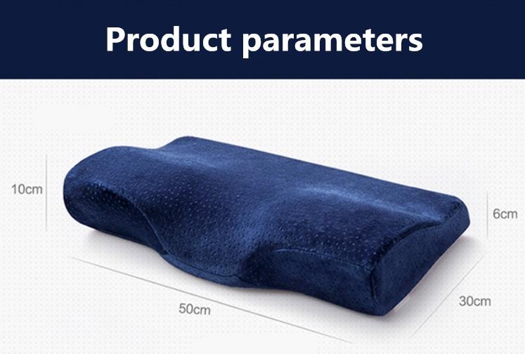Ys-289 King Size Memory Foam Pillow Butterfly Shaped Pillow Anti ...