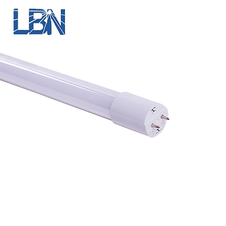 d84c19d7085 3 years warranty CE full plastic housing 4ft t8 led tube light with extrusion  plastic housing and aluminium profile