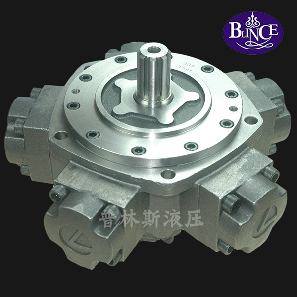 Hot sell low speed high torque radial piston hydraulic motor NHM series(3-500)