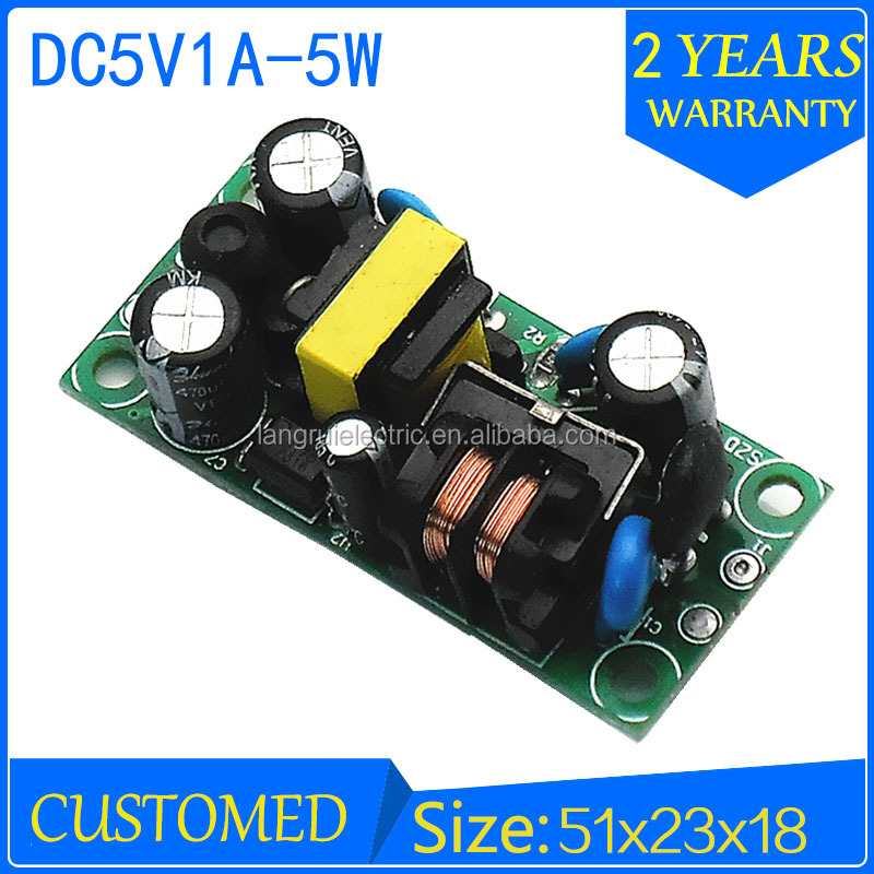 5 W SMPS 5 V DC LLEVÓ la fuente de Alimentación 1A fuente de ...