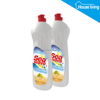 New technology household cleaning herbal kitchen dishwashing liquid 500ml 1L