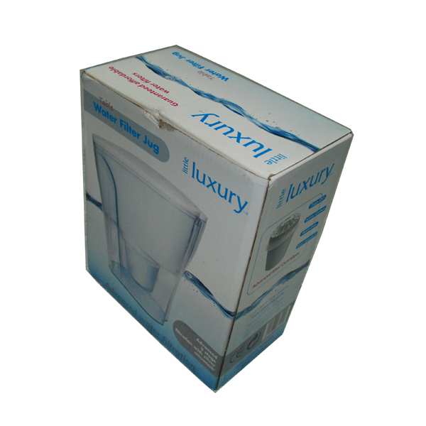 TUCK TOP CUSTOMIZED CORRUGATED PACKING BOXES FOR GLASS CUP LITHO PRINTED SHIPPING BOX WITH GLOSSY LAMINATION