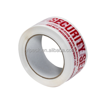 Custom printed colored plastic adhesive tape for packing