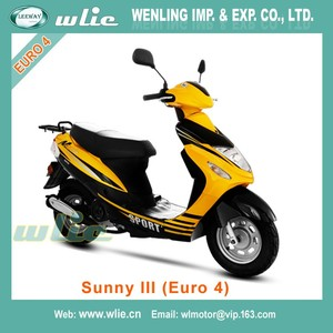 Very Cheap Euro 4 EEC Scooter new petrol 50cc scooters motorcycle moto bike Sunny III (Euro4)