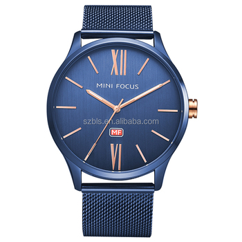 MF 0018 г Мини фокус новые золотые мужские часы модного бренда мужской часы  Простой циферблат кварцевые 35c0f428d62d3