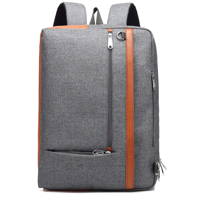 a45109e5aca0 Buy Oflamn Convertible Backpack Messenger Business Briefcase Travel ...