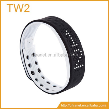 TW2 funny rubber wristband waterproof heart rate brasalet nfc gps tracker  brasalet for phones, View wristband rubber, UFIT Product Details from
