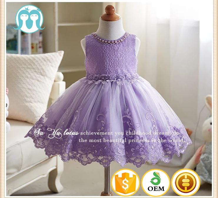 Venta al por mayor cuellos de vestidos de niña-Compre online los ...