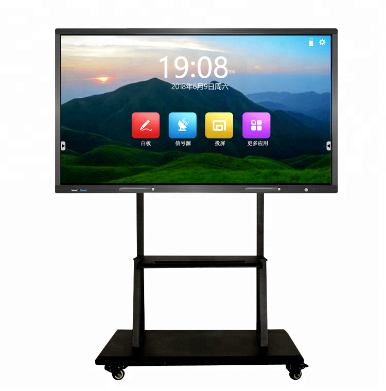 Large Touch Screen >> 65 Inch Large Touch Screen Tv Display Interactive Panel Price Buy Touch Screen Tv Touch Screen Display Large Interactive Display Product On