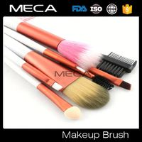 beautiful 15pcs makeup brush set Custom Logo 20pcs Professional Make Up Brush Set with pink folding bag