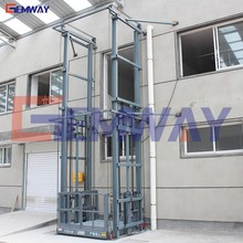 Hydraulic electric outdoor cargo lift machine pallet elevator with discount