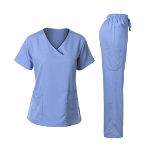 Wholesale Natural Uniforms Europe nurse uniform hospital scrubs medical uniforms