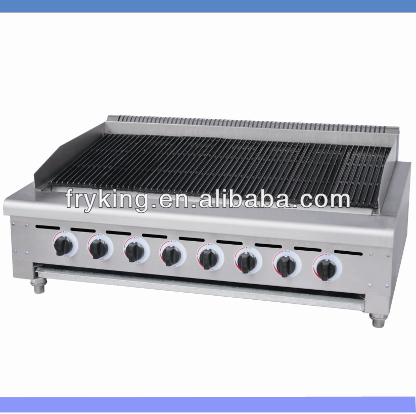 Commercial Kitchen Equipment Charcoal Grill - Buy Commercial ...