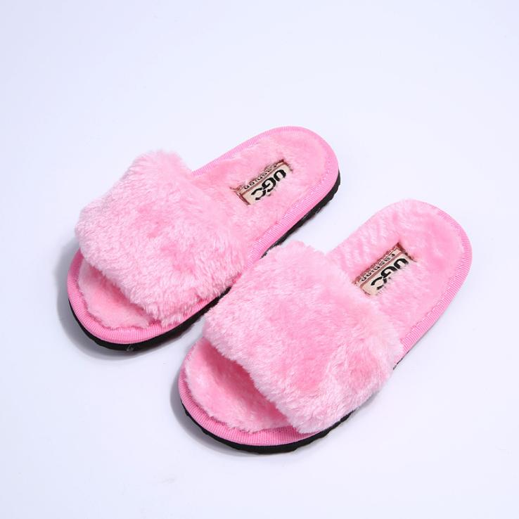 Children Winter Warm Indoor Slippers